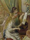 Two Girls at the Piano, c.1892 Giclée-Druck von Pierre-Auguste Renoir