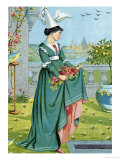 My Lady's Garden, From the Quiver of Love Giclee Print by Walter Crane