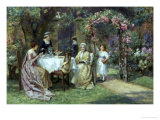The Tea Party Giclee Print by George S. Knowles