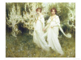 Innocence Reproduction proc&#233;d&#233; gicl&#233;e par Arthur Hacker