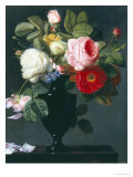 Still Life of Roses Giclee Print by Antoine Berjon