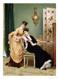 The Letter Giclee Print by Gustave Leonhard de Jonghe