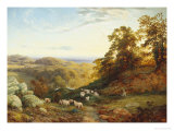 The Sheperd's Rest Giclee Print by George Vicat Cole