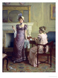 Thoughtful Moments Giclee Print by Charles Haigh-Wood
