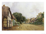 Cropthorne, Worcestershire Giclee Print by Thomas Liddell