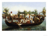 Midsummer Festival Giclee Print by Giulio Calini