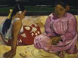 Women in Tahiti, c.1891 Posters by Paul Gauguin