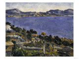 L'Estaque, c.1878 Giclee Print by Paul Cézanne