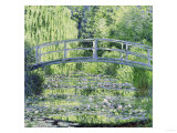 Water Lily Pond (Harmonie Verte), c.1899 Reproduction procédé giclée par Claude Monet