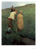 By Unfrequented Ways Giclee Print by William Henry Gore