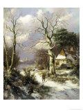 Christmas Eve Giclee Print by Hendrik Barend Koekkoek