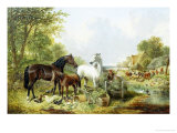 Ready for Work Giclee Print by John Frederick Herring II