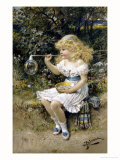 I'M Forever Blowing Bubbles Giclee Print by William Stephen Coleman