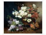 Still Life with Lilac Giclée-Druck von Eugene Henri Cauchois