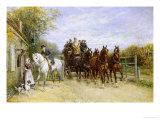 The Toll Gate Giclee Print by Heywood Hardy
