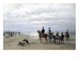Day at the Beach Giclee Print by Otto Eerelman