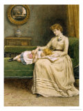 Quiet Read Giclee Print by George Goodwin Kilburne