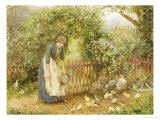 In an Orchard Giclee Print by Arthur Hopkins