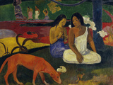 Joys, c.1892 Art by Paul Gauguin
