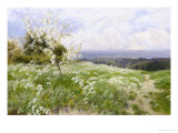 Spring Blossom Giclee Print by Clayton Adams
