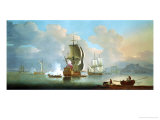 At Low Tide Giclee Print by Jan Karel Donatus Van Beecq