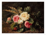 Study of Roses Giclee Print by Gerardina Jacoba Backhuysen