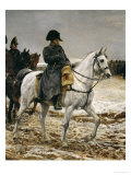 Campagne de France Napoleon, c.1864 Reproduction proc&#233;d&#233; gicl&#233;e par Jean-Louis Ernest Meissonier