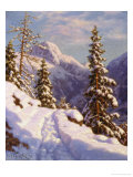 The First Snow of Winter Giclee Print by Ivan Fedorovich Choultse
