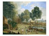 Village Fair Giclee Print by Alexander Van Bredael