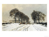 Winter Morn Giclee Print by Auguste Ballin