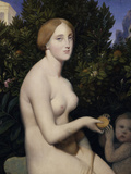 Venus on Paphos, c.1852 Giclee Print by Jean-Auguste-Dominique Ingres