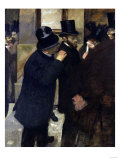 The Stock Exchange, c.1878 Giclee Print by Edgar Degas