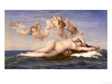 The Birth of Venus, c.1863 Posters by Alexandre Cabanel