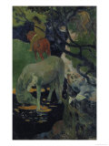 The White Horse, c.1893 Giclee Print by Paul Gauguin