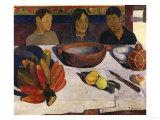 Tahitian Boys at Table, c.1891 Giclee Print by Paul Gauguin