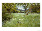 In the Orchard Giclee Print by Valentine Davis