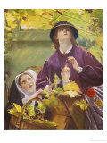 The Vine That Maketh Glad the Heart of Man Giclee Print by John Rogers Herbert