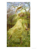 The Spirit of Spring Giclee Print by William Cooper