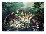 Abundance of Flowers Giclee Print by Desire De Keghel