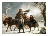 Christmas Eve Giclee Print by John Barker
