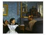 The Bellelli Family, c.1858 Giclee Print by Edgar Degas