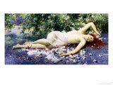 Wood Nymph Giclee Print by Alfred Augustus Glendenning