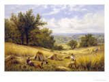 Harvesting Giclee Print by Alfred Augustus Glendenning