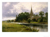 Stratford on Avon Giclee Print by Benjamin Williams Leader