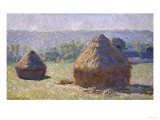 Haystack, Late Summer, c.1891 Prints by Claude Monet