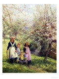 May Day Giclée-Druck von Edgar Barclay
