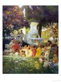 La Ronde des Enfants Giclee Print by Gaston Latouche