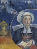 La Belle Angele, c.1889 Giclee Print by Paul Gauguin