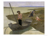 The Poor Fisherman, c.1881 Prints by Pierre Puvis de Chavannes