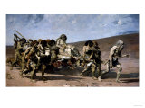 The Flight of the Cainites, c.1880 Prints by Fernand Cormon